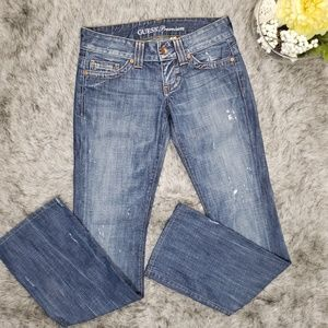 Guess Premium Distressed Blue Jeans Boot Cut